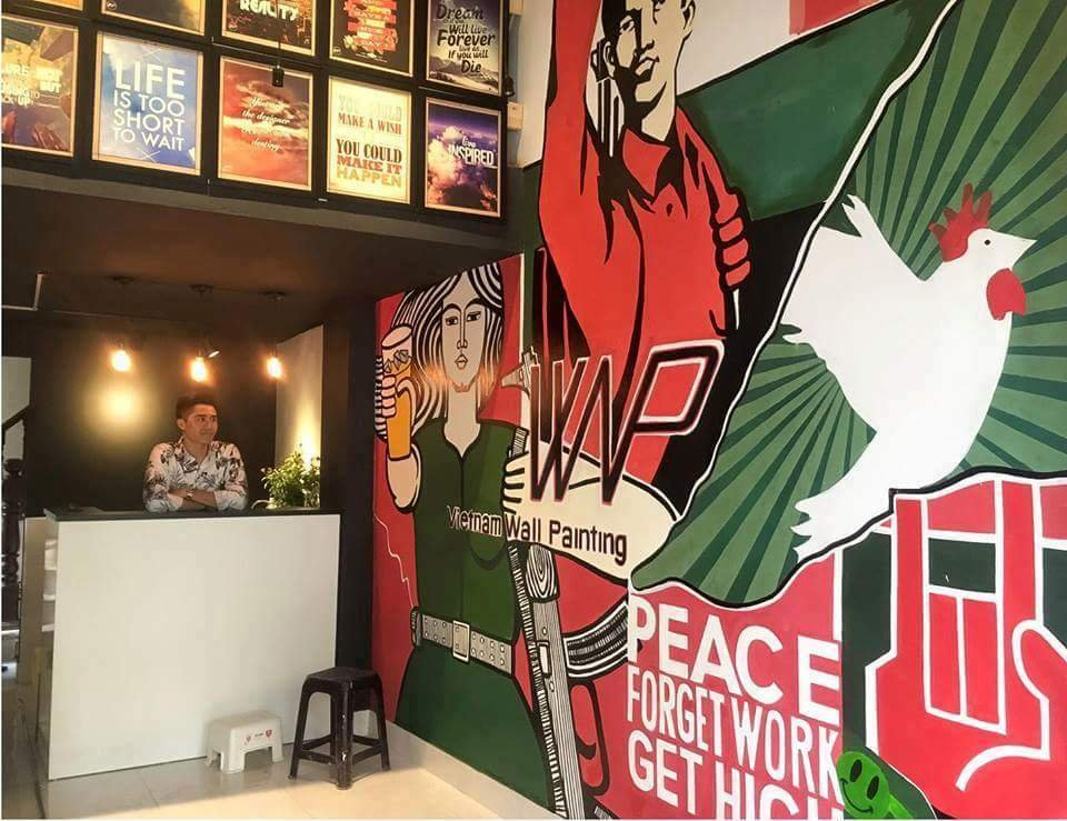 dịch vụ vẽ tranh tường tại Hà Nội