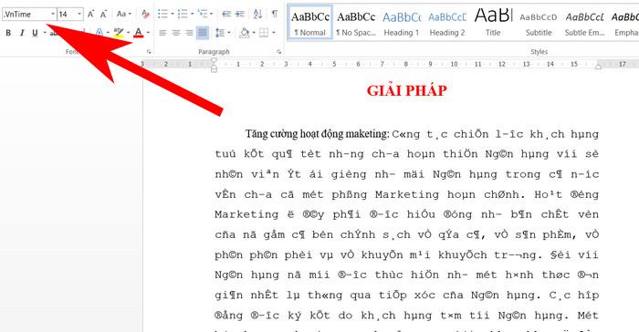 Cách Chuyển Đổi Font Chữ Trong Word Bằng Unikey
