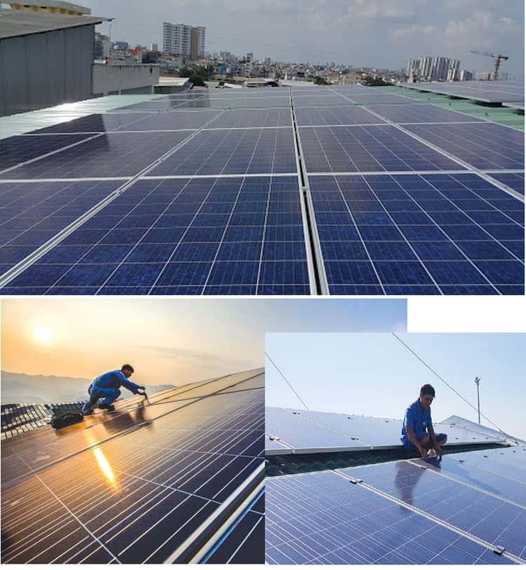lắp hệ thống điện năng lượng mặt trời